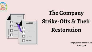 Photo of The Company Strike-Offs & Their Restoration