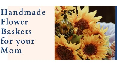 Photo of Handmade Flower Baskets for Your Mom