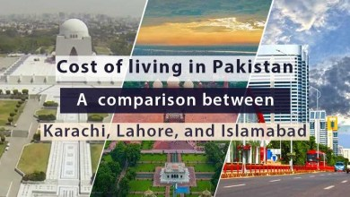 Photo of Cost of Living in Pakistan: A comparison between Karachi, Lahore, and Islamabad
