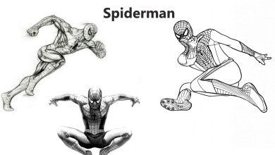 Photo of How To Draw A Spiderman Step By Step
