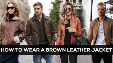Photo of How To Style a Brown Leather Jacket