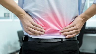 Types of back pain