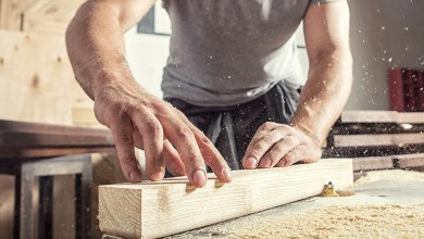 Carpentry services construct, repair, or remodel private and business structures