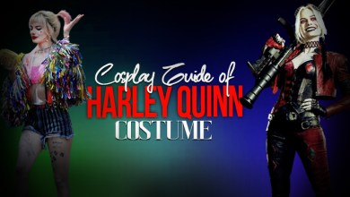 COSPLAY GUIDE OF HARLEY QUINN COSTUME