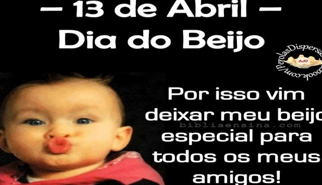 13 de Abril – Dia do Beijo