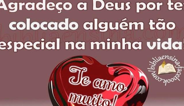 Feliz Dia dos Namorados! Te amo!