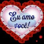 Eu amo você!