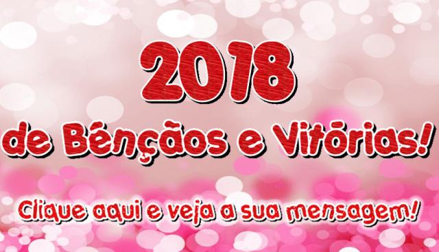 2018 de Bênçãos e Vitórias!