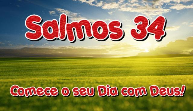 Salmos 34 – Louvores ao Senhor!