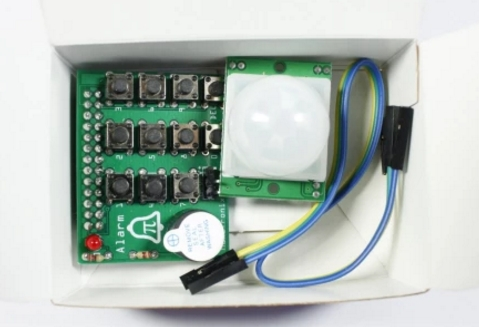 Raspberry PI connected Wireless Smoke Alarm