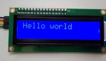 I2C 20×4 LCD character display on a #RaspberryPi – Raspberry Pi Pod