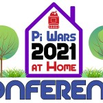 Pi Wars 2021 at Home Conference logo