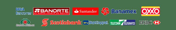Bancos para venta de Recargas y Servicios