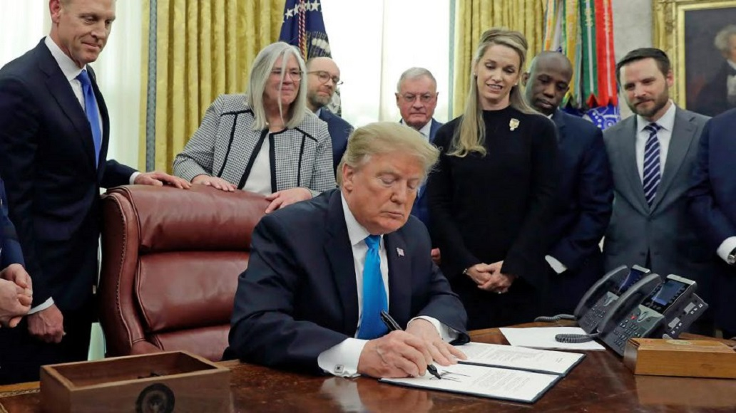 Trump ha firmato la direttiva necessaria per creare la Space Force