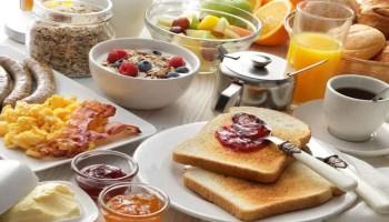 Receitas para o café da manhã