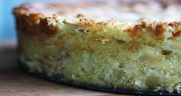 Receita de Torta de maçã e limão - Como fazer Torta Búlgara