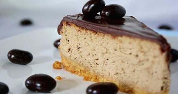 Receita de Cheesecake de Cappuccino - Receita de Bombons Folhados de Chocolate