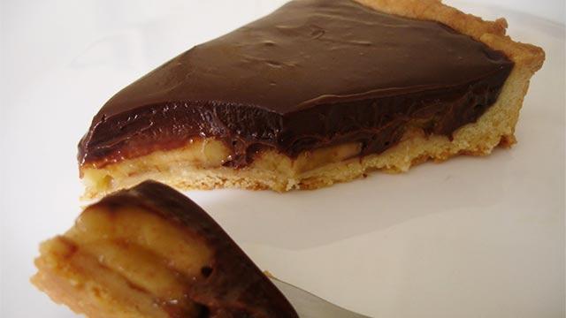 Torta de Banana Com Chocolate - Torta de Coco dos Anjos