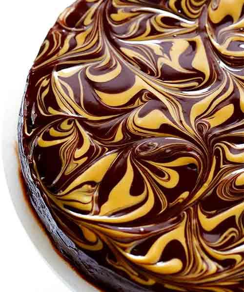 Bolo de chocolate e Manteiga de Amendoim Sem Glúten 3 - Bolo de chocolate e Manteiga de Amendoim Sem Glúten