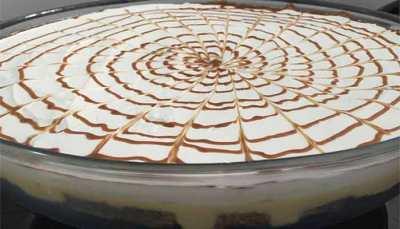 Torta Gelada de Chocolate com Mousse de Maracujá - Torta Gelada de Chocolate com Mousse de Maracujá