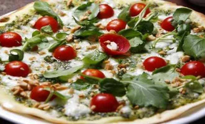 Como fazer Pizza ao Molho Pesto
