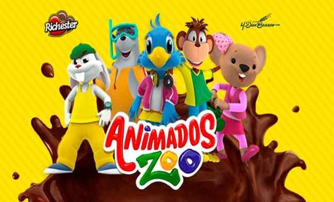 Férias divertidas com Animados Zoo