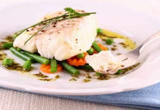 Peixe especial Para um Jantar Saboroso