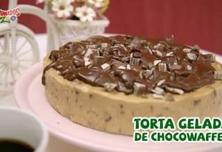 Torta Gelada de Chocowaffer Animados Zoo