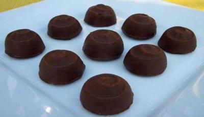 Bombons de Chocolate Com Recheio de Cereja