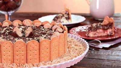 Como fazer Torta Charlote com Biscoito Maizena Fortaleza