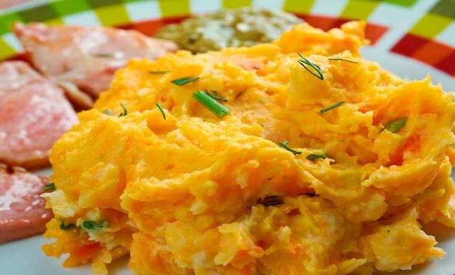 Como fazer Purê de Batata com Cenoura