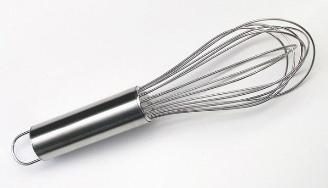 Fouet ou batedor de arame