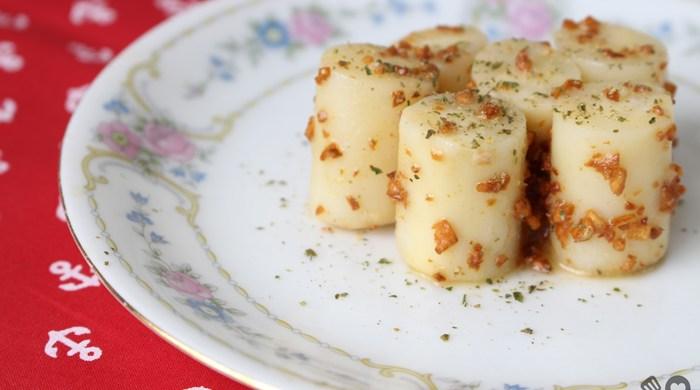 Palmito na manteiga com alho