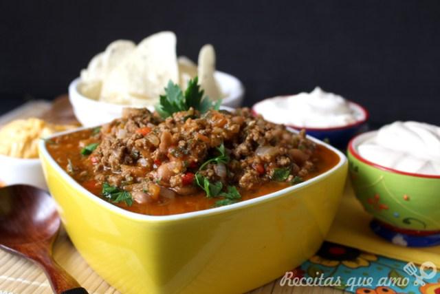 Chilli com carne mexicano