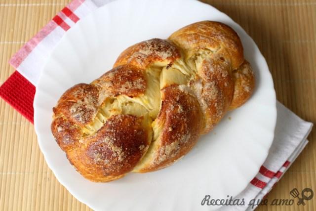 Massa básica para pão doce