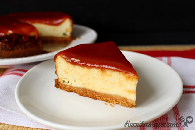 Receita de cheesecake