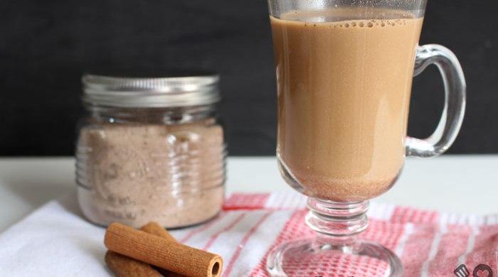 Cappuccino em pó caseiro