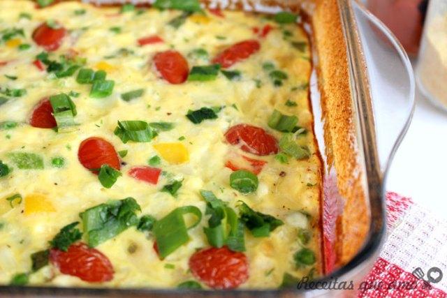 Omeletão de forno