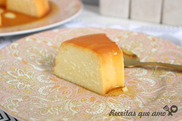 Pudim de queijo pronto em 20 minutos
