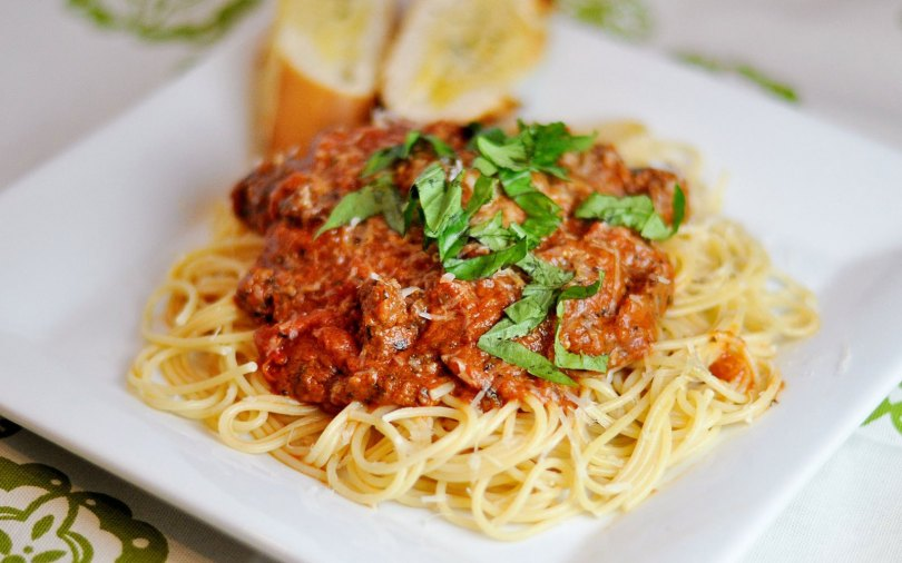 pasta bolognese recept