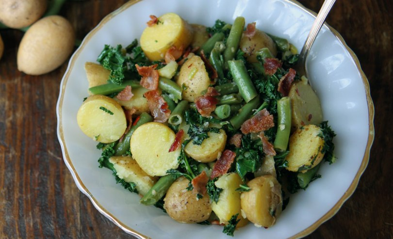 krieltjessalade-met-boontjes-boerenkool-en-bacon