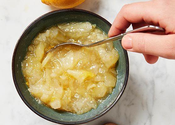 Fänkål och päronmarmelad