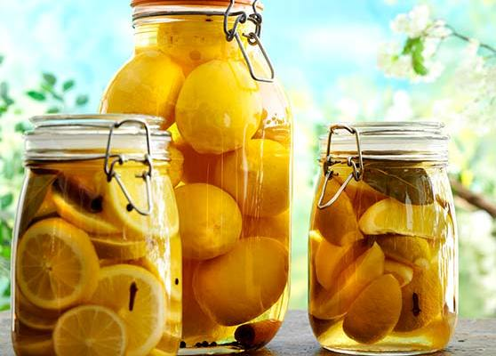 Inlagda citroner