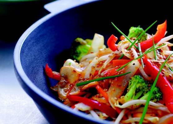 Lättstekta grönsaker