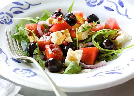 Lills grekiska sallad