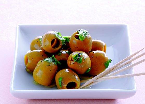 Marinerade oliver
