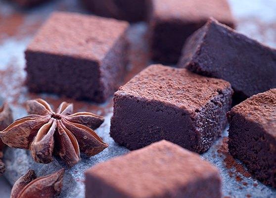 Chokladtryffel med stjärnanis