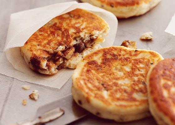 Hotteok – söta koreanska pannkakor