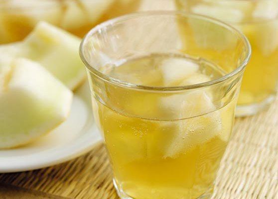 Tebål med melon