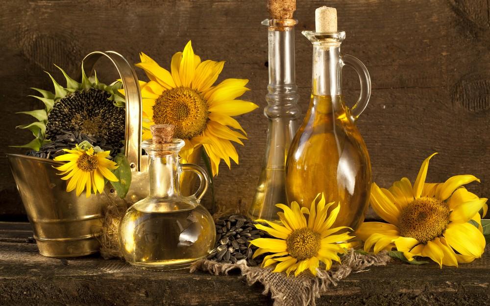 Resultado de imagen para aceite de girasol+comida